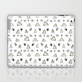 hazelnuts & triangles. Laptop & iPad Skin