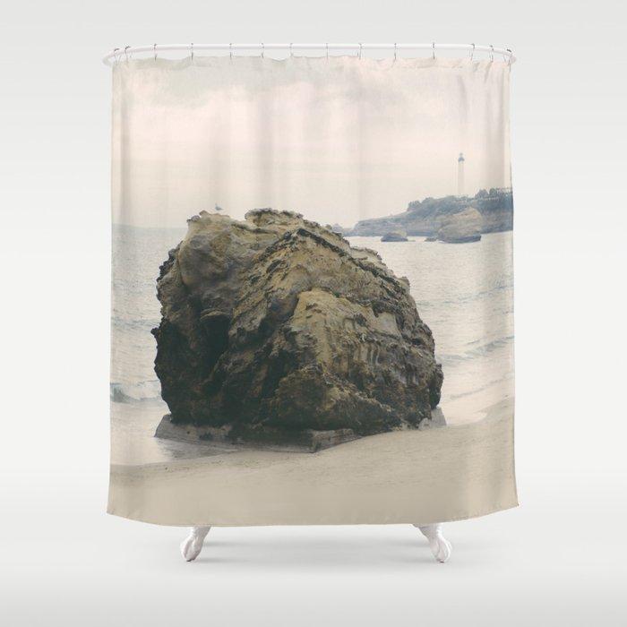The Rock Shower Curtain By Marioguti