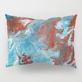 Fantasy in Copper and Blue Pillow Sham