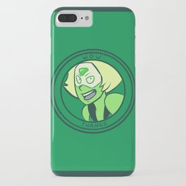 WOW THANKS iPhone Case