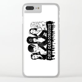 Ladies of Fright Clear iPhone Case