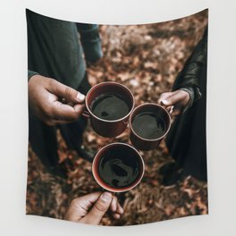 Morning Coffee Wall Tapestry