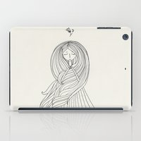 rapunzel iPad Cases featuring Rapunzel by Dao Linh