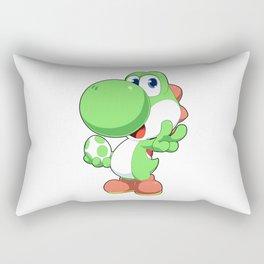 Super Smash Bros Yoshi Rectangular Pillow