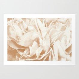 Cafe Au Lait Dream #2 #rose #floral #decor #art #society6 Art Print