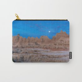 Dawn at the Badlands Carry-All Pouch