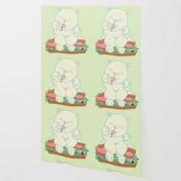 veggies cat Wallpaper