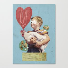 love in it Canvas Print