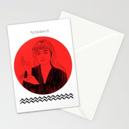Laura Palmer MEANWHILE Twin Peaks Stationery Cards