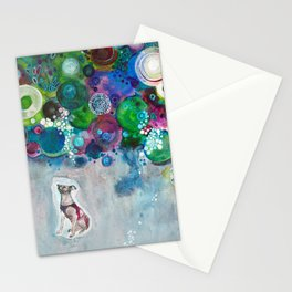 Laika, Canine Space Hero Stationery Cards