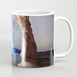 Milky Way Night sky in Moab Arches National Park Starry Night Pointer Utah USA for #Society6 Coffee Mug