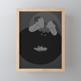 Family Values. Framed Mini Art Print