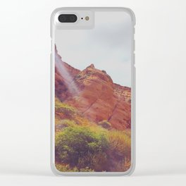 Molded Stone Clear iPhone Case