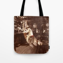 In Through the Out Door Led (Remastered) by Zeppelin Tote Bag