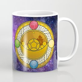 Sailor Moon Crystal stained glass window Transformation Brooch Coffee Mug