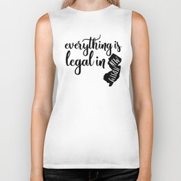 EVERYTHING IS LEGAL Biker Tank