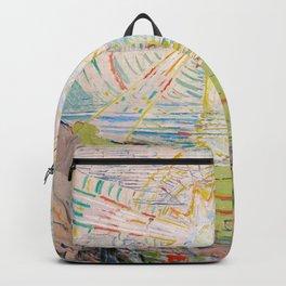 "Edvard Munch ""The Sun"", 1910–11 Backpack"
