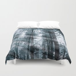 I Talk to the Trees... Duvet Cover