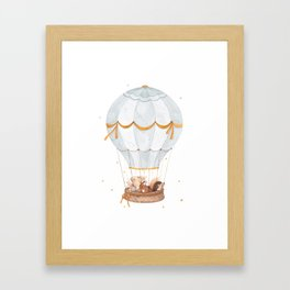 Cloud Explorers Framed Art Print