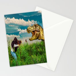 Wildlife Photographer Photo Bomb Stationery Cards