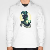 wicked Hoodies featuring WICKED by Tim Shumate