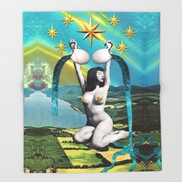 Divination Tarot: Star Throw Blanket