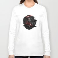 sith Long Sleeve T-shirts featuring Sith Lord by Hunor L. Kovacs
