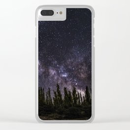"""""""Meteorite at the mountains"""" Clear iPhone Case"""