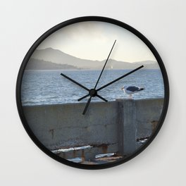 San Francisco Sunset Wall Clock