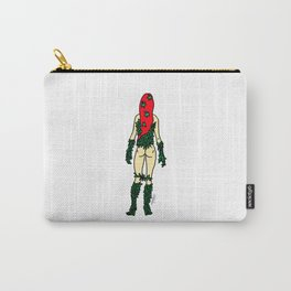 Superhero Butts - Green Ivy Carry-All Pouch