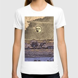 Moon over Debdale T-shirt