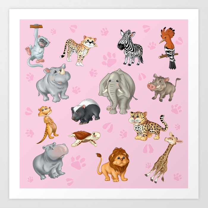 African Animal Art For Kids