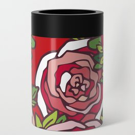 Valentine's Red Roses Can Cooler