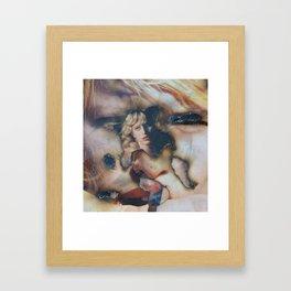 Born Under Punches Framed Art Print