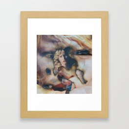 Born Under Punches Framed Art Print