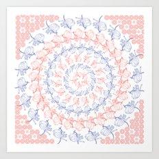 Stampede Art Print