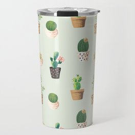 Cactus Love Travel Mug