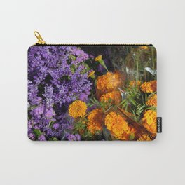 purple orange Carry-All Pouch