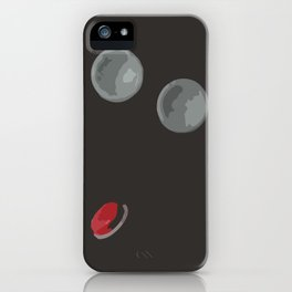 With These Buttons I Am a Space Fighter iPhone Case
