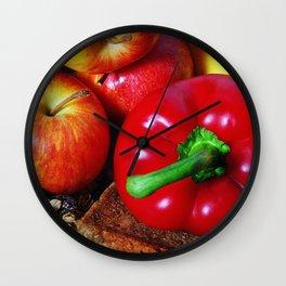 Healthy II Wall Clock