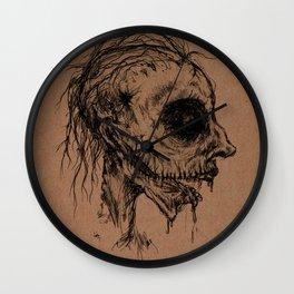 Dead Zombie Wall Clock