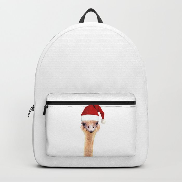 Ostrich Christmas Backpack