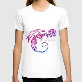 Kara Lockharte's Dragons: Escape. Adventure. Romance. T-shirt
