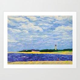 Cape May Lighthouse Art Print