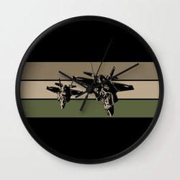 F-35 Stealth Fighters Wall Clock