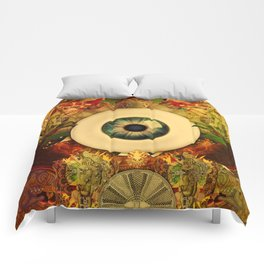 Golden-Eyed Comforters