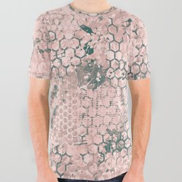 Blush Odyssey All Over Graphic Tee