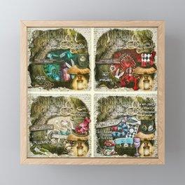 Alice of Wonderland Series Framed Mini Art Print