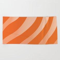 Salmon Sashimi Beach Towel