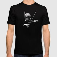 Dark Violinist Fett Mens Fitted Tee Black MEDIUM